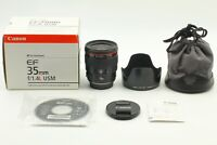 【MINT+++  BOXED】 Canon EF 35 mm f/1.4 L USM Lens from Japan 919