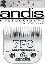 "ANDIS CERAMIC EDGE SCHERKOPF SIZE 7F 3,2MM AESCULAP - MOSER - WAHL - OSTER""NEU"""