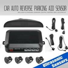 4 Parking Sensors LED Car Auto Backup Reverse Rear Radar System Alert Alarm Kit#