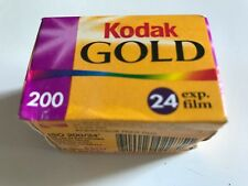 Kodak Gold 200 Speed - 24 exposures EXP Film Travel memories with Kodak Film NEW