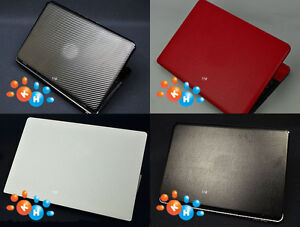 """KH Laptop Carbon Leather Sticker Skin Cover for HP PAVILION X360 14-BA042TX 14"""""""