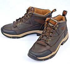 Ariat Mens Terrain Work Boots Hiking Boots Brown Leather Sz 9D