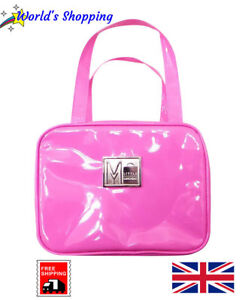 Stylish Pink Lunch Bag - Glossy PVC - Thermal - For Adults Teens And Children