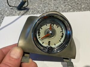 '50 Oldsmobile - Original Working Dash Clock - Serviced, Tested, and Nice!
