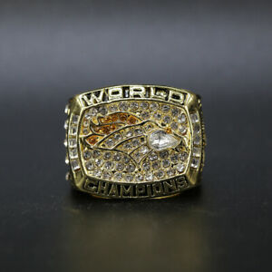1997 Denver Broncos Championship Ring Size 11 Championship Ring