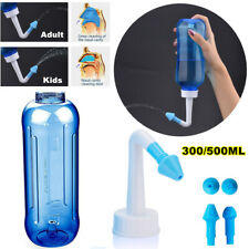 300/500ml Nose Cleaner Neti Pot Sinus Rinse Nasal Wash Bottle Allergy Irrigation