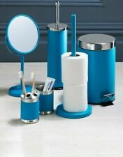 Stainless Steel 6-Piece Bathroom Set Accessories Teal