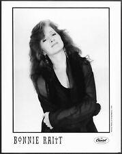 ~ Bonnie Raitt Original 1990s Capitol Records Promo Portrait Photo Blues Rock