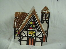 Vintage Department 56 Lighted English Church 1982