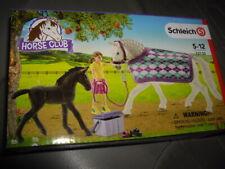 Schleich Horse Club Play Set 72130 Pferde Mädchen Zubehör Lipizzaner Pflege