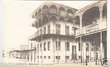 RPPC - New Orleans - Le Pretre Mansion & Street Scene - early 1900s