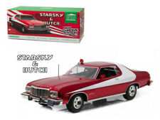 """1976 Ford Gran Torino """"Starsky and Hutch"""" Red Chrome Edition (TV Series 1975-79)"""