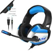 Gaming Headset for PlayStation PS4 Tablet PC 3.5mm ONIKUMA Headphone Mic Laptop