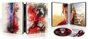 Mulan | Live Action | Steelbook 4K Ultra HD + Blu Ray | Disney