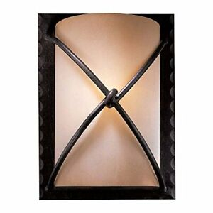 """Minka Lavery 1972-138 Aspen Light Wall Sconce in Traditional Style - 12.5""""x9.25"""""""