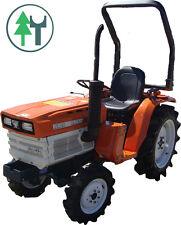 Traktor Schlepper Allrad Kubota B1600 Bulldog gebraucht neu lackiert u. überholt