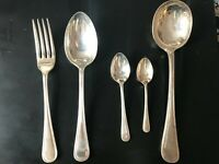 Set of 22 Pieces A.T.P Epns Silver Plated Cutlery