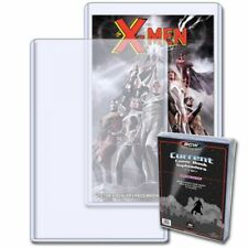 1 Pack of 10 - BCW Current Comic Toploader - Plastic Display Case / Protector