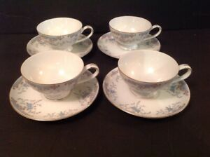 {4} Sets of Cups & Saucers ~ Imperial China Japan Seville ~ W. Dalton #5303