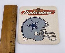 Beer Coaster Dallas Cowboys 1997 NFL Schedule Budweiser