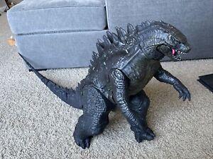 """JAKKS Pacific 2014 24"""" Godzilla. HUGE! Giant! Collectible & Rare! Mattel"""