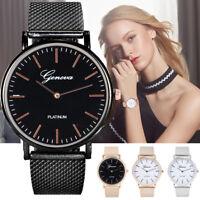 Fashion Women Classic Mesh Strap Quartz Watch Bracelet Watches Wrist Watch Gifts