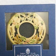 """Wedgwood White Jasper 1996 Christmas Ornament """"Noel"""" Vintage [Brand New]"""
