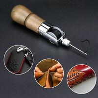Leather Repair Sewing Awl Kit Hand Lock Stitcher Set DIY AU Craft HOT A1G6