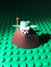 1 custom cape made to fit  YODA Star Wars Lego Minifigure- CAPE ONLY NO MINIFIG