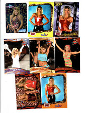 Miss Jackie Wrestling Lot of 8 Different Trading Cards WWE TNA MJ-A1