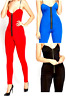Women's Sweetheart sexy fitted Jumpsuit Play suit Zip up Front Catsuit
