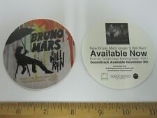 BRUNO MARS 2011 IT WILL RAIN promotional sticker NEW old stock MINT condition