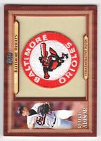 ROBERTO ALOMAR 2011 TOPPS COMMEMORATIVE PATCH TLMP-RAL BALTIMORE ORIOLES! HOF!