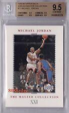 1999-00 UPPER DECK MASTER COLLECTION #21: MICHAEL JORDAN #/500 BGS 9.5 GEM MINT