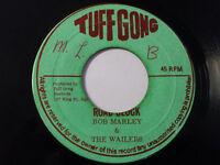 "BOB MARLEY&THE WAILERS- ROAD BLOCK  / Reggae 45"" on TUFF GONG LABEL ORIG"