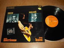 ENNIO MORRICONE  - SACCO VANZETTI  ( JOAN BAEZ ) - LP FRANCE RCA 443 013  - OST