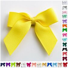 Large 5cm Grosgrain Bows, Self Adhesive Sticky Pre-Tied 16mm Ribbon Craft Gift