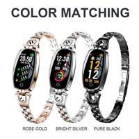 H8 Lady Smart Watch Heart Rate Sleep Monitor Blood Pressure Sport Bracelet