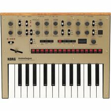 KORG Monologue Monophonic Analog Synthesizer with Presets-Gold