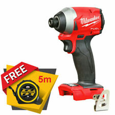 Milwaukee M18FID2 18V Fuel Impact Driver With free Pocket Tape Measures 5M/16ft