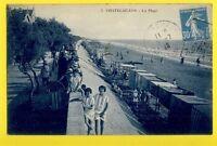 cpa FRANCE 17 - CHATELAILLON en 1926 (Charente Maritime) La PLAGE Animés
