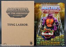 2014 MOTU Tung Lashor MOTUC Masters of the Universe Classics MOC