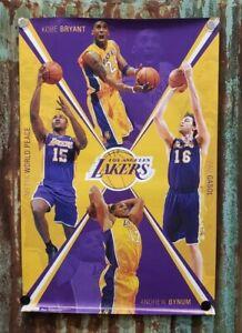 KOBE BRYANT +++ Los Angeles Lakers Poster NBA Basketball Poster 24 x 36