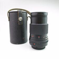 M42 Carl Zeiss Jena Sonnar red MC  3.5/135  Objektiv / lens + case