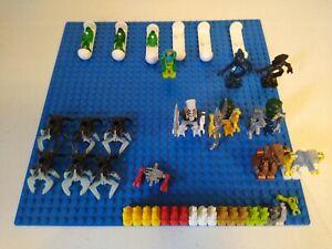 Lego Bionicle Life on Mars Mission Mars Aliens Minifigure Lot