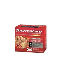 THERMACARE BANDS SELF-HEATING FLEXIBLE USE AGAINST THE PAIN 6 BANDS SINGLE-USE