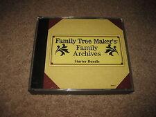 Family Tree Maker's Family Archives - Starter Bundle - PC CD-Rom