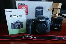 Beautifull Canon EOS 7D 18 MP Digital Camera - with Box and Manual book