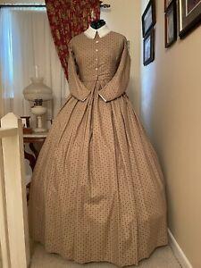 Civil War Reenactment Day Dress Size 28