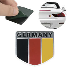 Aluminum Germany German Flag Emblem Sticker 3D Design Decal For Auto Car Truck